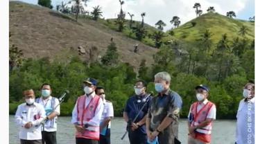 Pada Rabu, 23 Juni 2021, Menhub Budi Karya bersama Wakil Ketua DPR RI, Rachmat Gobel dan Bupati Gorontalo Utara, Indra Yasin memeriksa langsung kondisi Pelabuhan Anggrek, Gorontalo Utara.