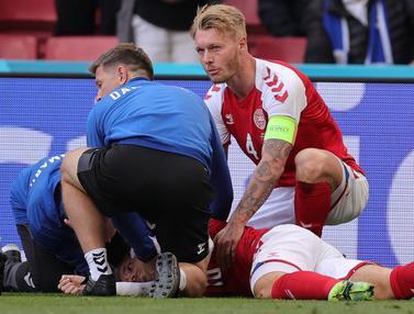Foto Piala Eropa: Krusial, Pahlawan Penyelamat Insiden Kolapsnya Eriksen