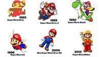 Perubahan Mario dari masa ke masa (sumber: bloomberg.com)