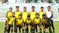 Tim PSG Pati saat beruji coba melawan Persipura Jayapura di Surabaya. (Dok PSG Pati)