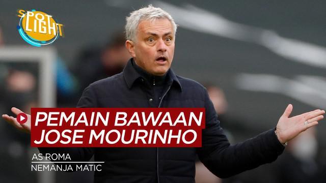 Berita video spotlight yang membahas empat pemain yang bisa diboyong Jose Mourinho ke As Roma.