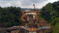 Penampakan Jalan Tol Bawen-Salatiga. (Foto: Fiki Ariyanti/Liputan6.com)