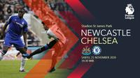 Newcastle United vs Chelsea (Liputan6.com/Abdillah)
