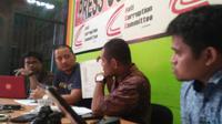 Anti Corruption Committee Sulawesi (ACC Sulawesi) minta KPK supervisi kasus dugaan suap proyek DAK senilai Rp 40 miliar di Kota Pare-Pare (Liputan6.com/ Eka Hakim)