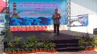 Direktur Jenderal (Dirjen) Perhubungan Laut Kementerian Perhubungan Agus H Purnomo.