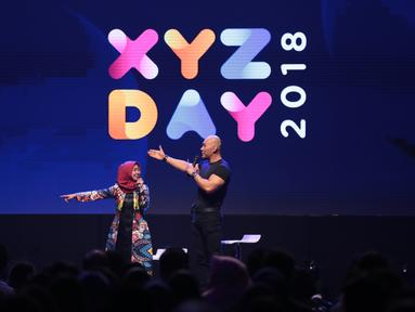 XYZ Day 2018 digelar hari ini di The Hall Senayan City, Jakarta Pusat, Rabu (25/4/2018). Beberapa pakar dibidang masing-masing berbagi ilmu untuk pengunjung yang hadir. (Adrian Putra/Bintang.com)