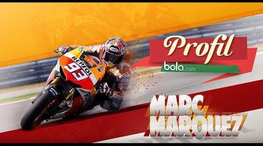 Marc Marquez, pembalap Muda MotoGP asal Spanyol berusia 22 tahun paling bertalenta dan merupakan idola baru di dunia MotoGP.