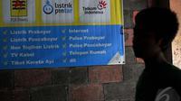 Pemerintah menunda kenaikan tarif bagi dua golongan rumah tangga R1 dengan daya 1.300 VA dan R1 berdaya 2.200 VA, Jakarta, Jumat (9/1/2015). (Liputan6.com/Johan Tallo)