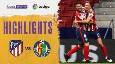 Berita video Atletico Madrid menang tipis atas Getafe 1-0