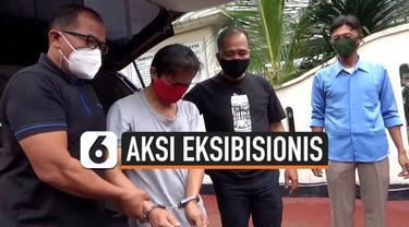 Pelaku eksibisionis terhadap istri komedian Isa Bajaj diringkus petugas Kepolisian Duren Sawit, Jakarta Timur, pada Kamis (21/1) siang. Eksibisionis merupakan aksi mempertontonkan kemaluan di depan umum. Pelaku terancam hukuman penjara 10 tahun.