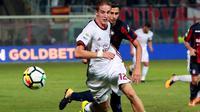 Bek AC Milan, Andrea Conti (AFP/Carlo Hermann)