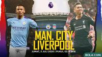 Premier League - Manchester City Vs Liverpool - Head to Head Pemain (Bola.com/Adreanus Titus)