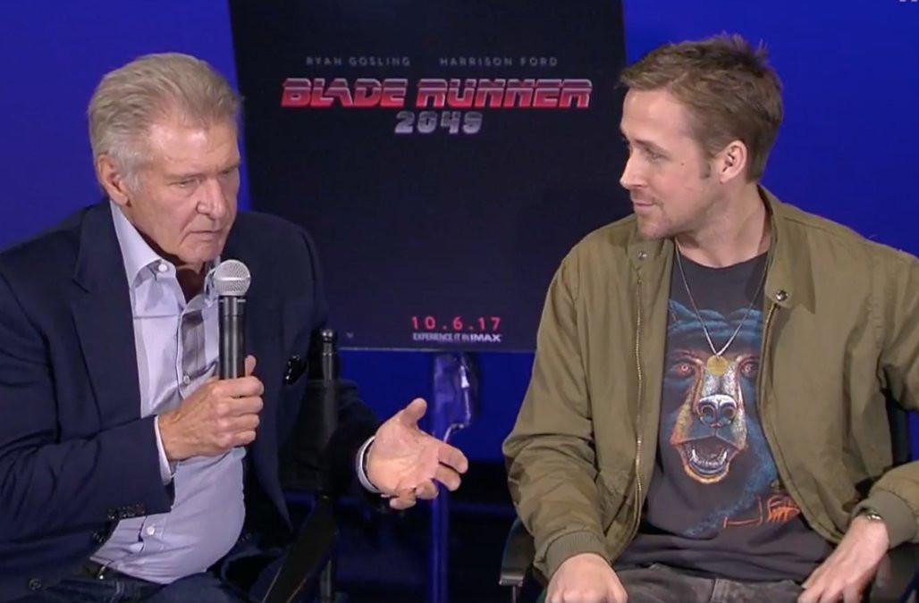 Ryan Gosling dan Harrison Ford (Aol.com)