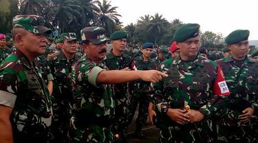 Panglima TNI Perintahkan Prajurit Mahir Bertempur dan Deteksi Aksi Inkonsitusional