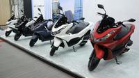 All New Honda PCX meluncur dengan ubahan signifikan. (AHM)