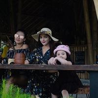 Dua video dan beberapa foto dibagikan oleh Ashanty saat sedang berlibur di Bali. Warganet banyak yang gemes menyaksikan video keduanya. (Instagram/ashanty_ash)
