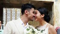 Pernikahan Chicco Jerikho dan Putri Marino di Bali, Sabtu (3/3/2018).Acara berjalan lancar dan dihadiri oleh kedua keluarga besar dan kerabat serta sahabat dan beberapa selebriti. (Instagram/#mrandmrsjerikho)