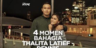 Yuk, simak beberapa momen flashback kebahagiaan Thalita dan suami di video di atas ini!