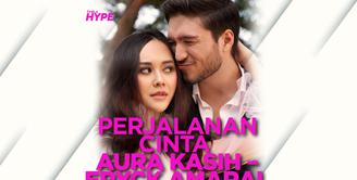 Bagaimana perjalanan cinta Aura Kasih dan Eryck Amaral sebelum akhirnya bercerai? Yuk, cek video di atas!