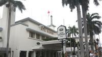 Hotel Majapahit yang menjadi saksi bisu perobekan bendera Belanda. Foto: (Dian Kurniawan/Liputan6.com)