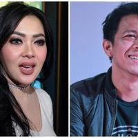 Syahrini-Ariel NOAH. (Deki Prayoga/Adrian Putra/Bintang.com)