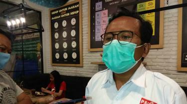 Plt Ketua DPD PSI Surabaya, Yusuf Lakaseng (Foto: Liputan6.com/Dian Kurniawan)