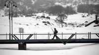 Musim Dingin di Resor Perisher, Australia (SAEED KHAN / AFP)