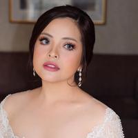 Tasya Kamila makeup resepsi pernikahan  (Instagram @upanduvan)