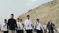 Menteri Agama (Menag), Lukman Hakim Saifuddin menuju Mina. Darmawan/MCH