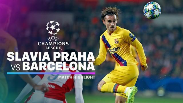 Berita video highlights matchday 3 Grup F Liga Champions 2019-2020 antara Slavia Praha melawan Barcelona yang berakhir dengan skor 1-2, Rabu (23/10/2019).
