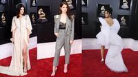 Berikut deretan gaun terbaik dari selebritas dunia di karpet merah Grammy Awards 2018. (Foto: Glamour.com)