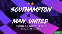 Premier League - Southampton Vs Manchester United (Bola.com/Adreanus Titus)