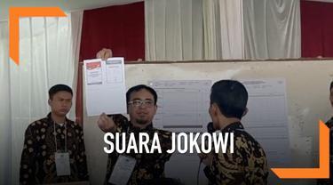 Jokowi-Ma'ruf hanya mendapat enam suara di TPS Bojong Koneng tempat Prabowo mencoblos.