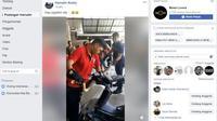 Ular Piton Besar Sembunyi di Boks Yamaha NMax (Facebook)