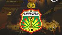Liga 1 - Ilustrasi Logo Bhayangkara FC BRI Liga 1 (Bola.com/Adreanus Titus)