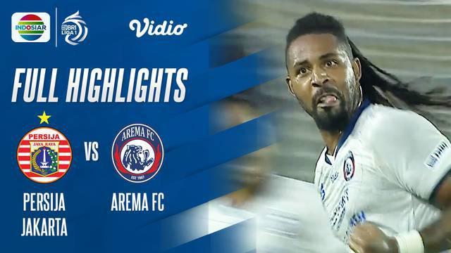 Berita Video, Hasil Pertandingan Persija Jakarta Vs Arema FC pada Minggu (17/10/2021)