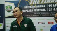 Johanis Winar enggan mengomentari wasit final IBL. (Bola.com/Budi Prasetyo Harsono)