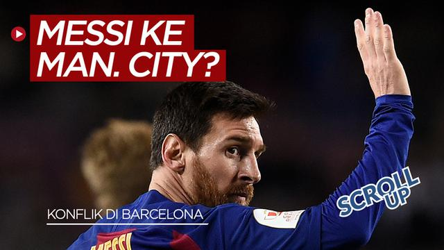 cover scroll up Lionel Messi
