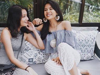 Memilik adik perempuan yang sedang beranjak dewasa, Maudy Ayunda kerap kali terlihat menghabiskan waktu bersama sang adik. (Liputan6.com/IG/maudyayunda)