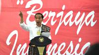 Presiden Joko Widodo atau Jokowi di Kupang (foto: Biro Pers Setpres)