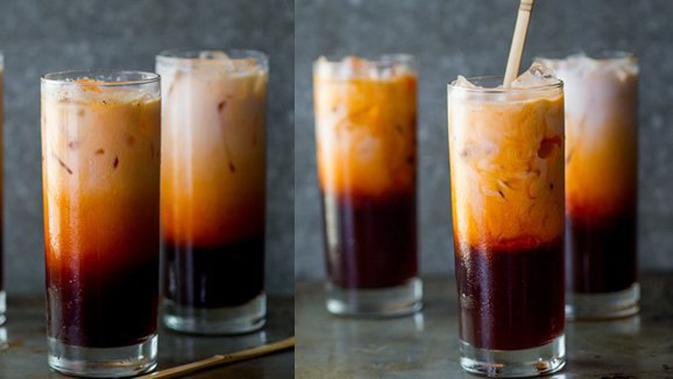 Resep Cara Membuat Thai Tea Homemade Ala Dum Dum Rasa Super Mirip Lifestyle Fimela Com