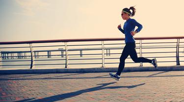 Ilustrasi Olahraga Lari (iStockphoto)