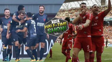 Berita video Half Time Show yang membahas perburuan gelar juara Liga 1 2018 dan kisruh yang sedang menghantam PSSI.