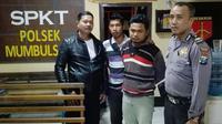 Polisi menetapkan satu tersangka dalam kasus petaka wangsit harta karun Bung Karno itu. Ia dijerat pasal penipuan. (Liputan6.com/Dian Kurniawan)