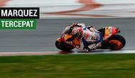Berita video highlights free practice 1 MotoGP Valencia di mana Marc Marquez menjadi yang tercepat catatan waktunya, sedangkan Valentino Rossi tercecer ke posisi ke-12, Jumat (16/11/2018).
