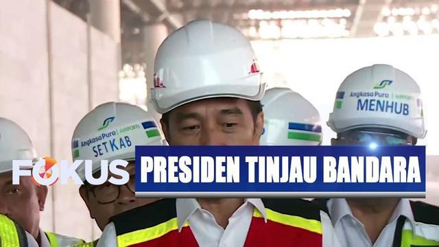 Presiden Jokowi menyatakan, slot penerbangan internasional akan lebih banyak di Bandara Baru Yogyakarta.