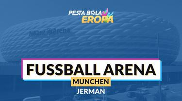 Berita video profil Stadion Allianz Arena, markas Bayern Munchen yang dijadikan venue Piala Eropa 2020.