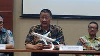 Direktur Utama Garuda Indonesia, Irfan Setiaputra. (Liputan6.com/Tira Santia)