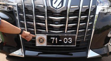 Ini Wajah Baru Plat Nomor Khusus Kendaraan Anggota DPR