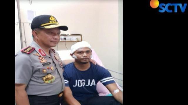 Sulastri adalah satu dari empat anggota polisi yang menderita luka-luka dalam kerusuhan di Rutan Mako Brimob, Kelapa Dua, Depok.